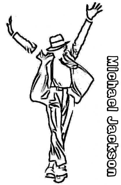 Desenhos com tema michael jackson news press release 39 s - Michael jackson coloriage ...