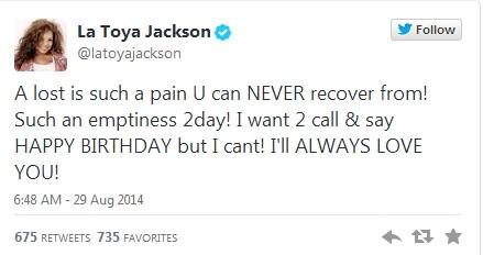 La Toya Jackson 1